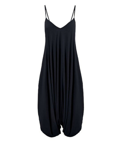 Black Harem Jumpsuit