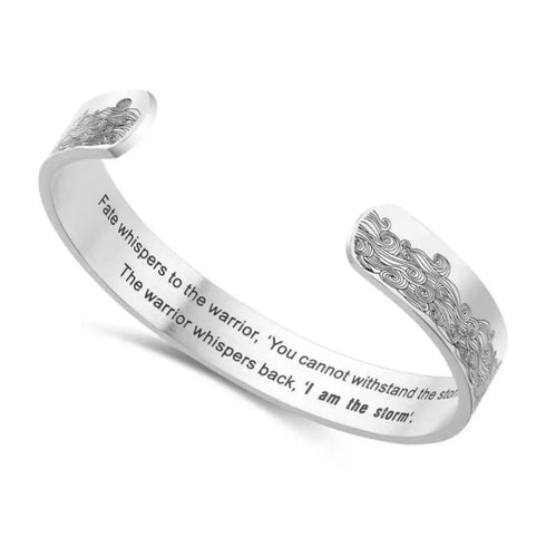 I AM The Storm Cuff Bangle