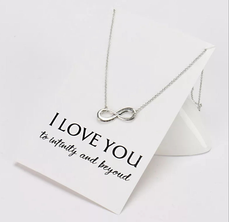 Infinity Necklace & Card