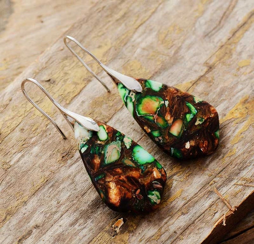 Grounding Jasper Earrings