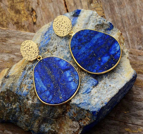 Lapis Lazuli Serenity Earrings