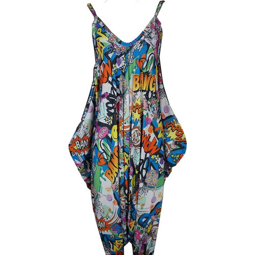 Pop Art Harem Jumpsuit