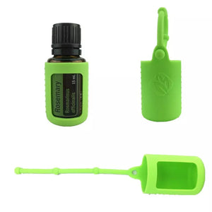 Silicone Essential Oil Bottle Protective Case Cover