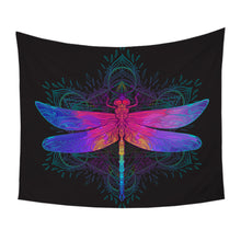 Load image into Gallery viewer, DragonflyTapestry