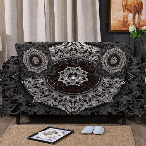 Mandala Sofa Cover Set