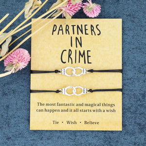 Partners in Crime Bracelet & Card