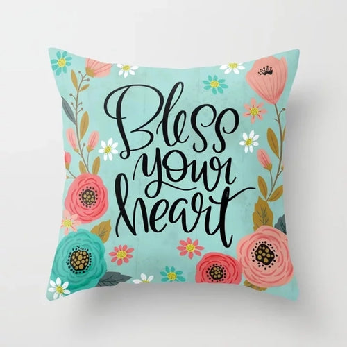 Swear words Cushion Cover-  Bless your Heart