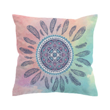 Load image into Gallery viewer, Mandala Flower Cushion Cover