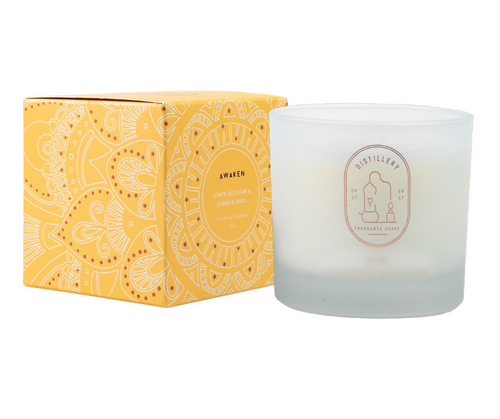 Distillery Soy Candle- AWAKEN