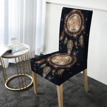Load image into Gallery viewer, Boho Feather Dreamcatcher Chair Covers