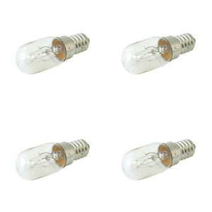 Globe 240V E14 CLEAR 15 Watts- 4 pack