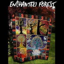 Load image into Gallery viewer, Enchanted Forest Quilt