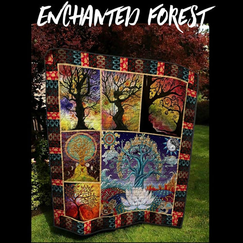 Enchanted Forest Quilt