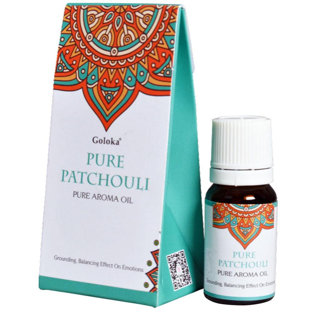 GOLOKA FRAGRANT OIL- Pure Patchouli