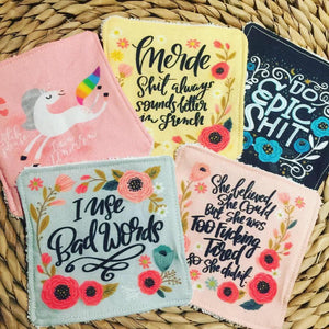 Pretty Profanities Washable Makeup Wipes