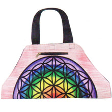 Load image into Gallery viewer, Flower of Life Yoga Mat Shoulder Bag