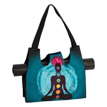 Load image into Gallery viewer, Chakra Meditation Utility Bag