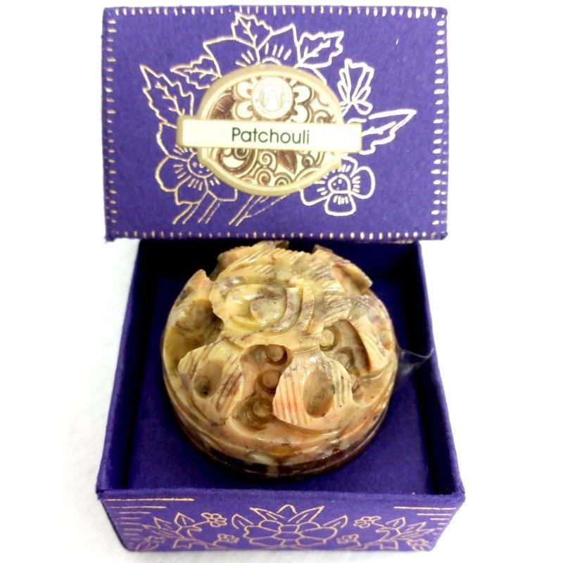Song Of India Natural Solid Perfume- PATCHOULI