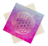 Triskele Arts Card- Flower of Life