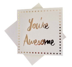 Triskele Arts Card- You're Awesome
