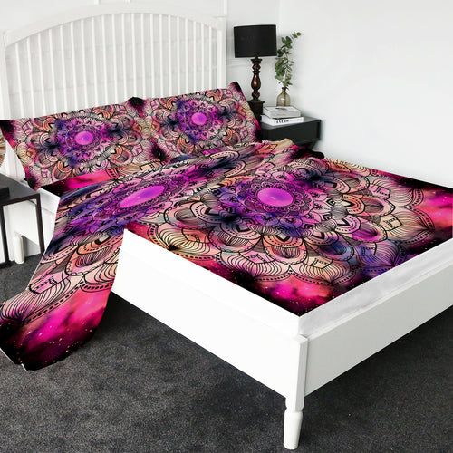 Vibrant Mandala Bed Sheet set