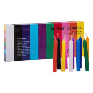 Wish Candle Set- 40 assorted candles