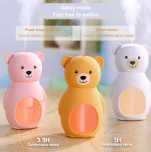 Load image into Gallery viewer, Cute Bear USB Essential Oil Diffuser/ Humidifier
