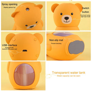 Cute Bear USB Essential Oil Diffuser/ Humidifier