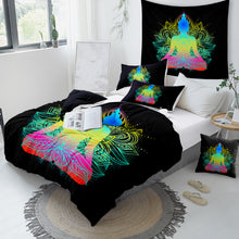 Load image into Gallery viewer, Chakra Lotus Doona Cover Set