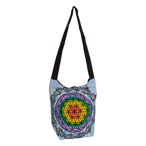 Flower of Life Shoulder Bag