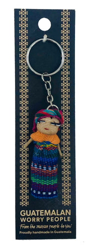 Worry Doll on Keychain