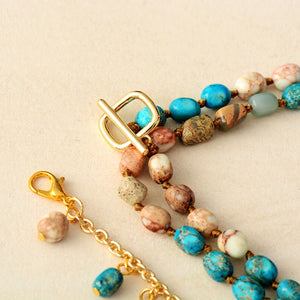 Etenity Imperial Jasper Lariat Necklace