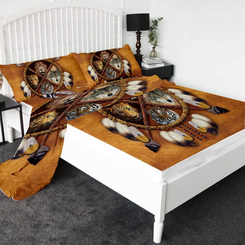 Tribal Animals Bed Sheet set
