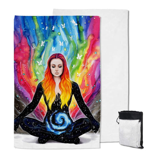 Meditation Sand Free Beach Towel
