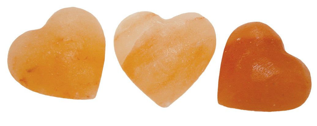 Large Angel Heart Himalayan Salt Chunk
