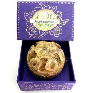 Song Of India Natural Solid Perfume- FRANKINCENSE