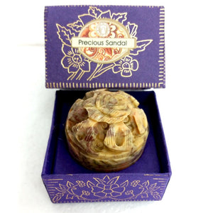 Song Of India Natural Solid Perfume PRECIOUS SANDAL
