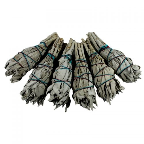 White Sage Smudge Stick- Twin pack
