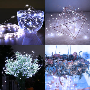 Battery Powered Fairy String Lights - 20 LEDs, 6 Pack | HEDORANCE