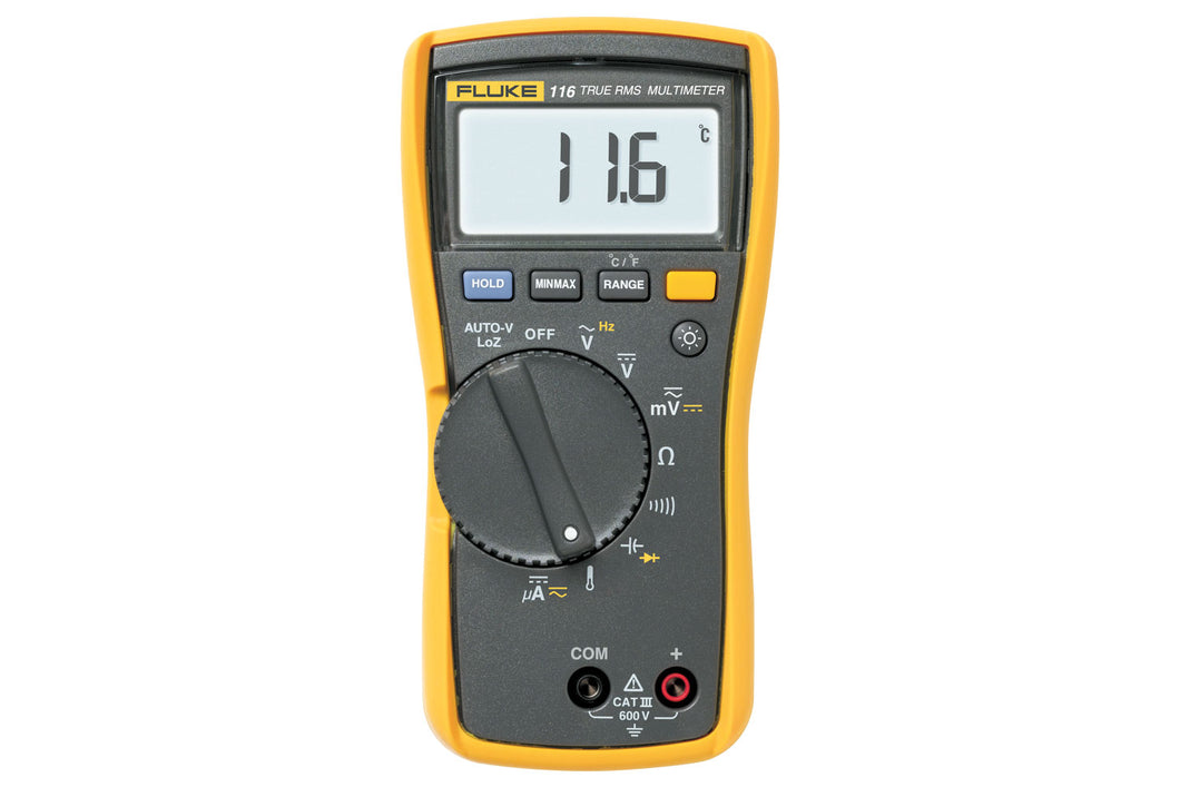 Fluke 116/323 HVAC Combo Kit - Includes Multimeter and Clamp Meter