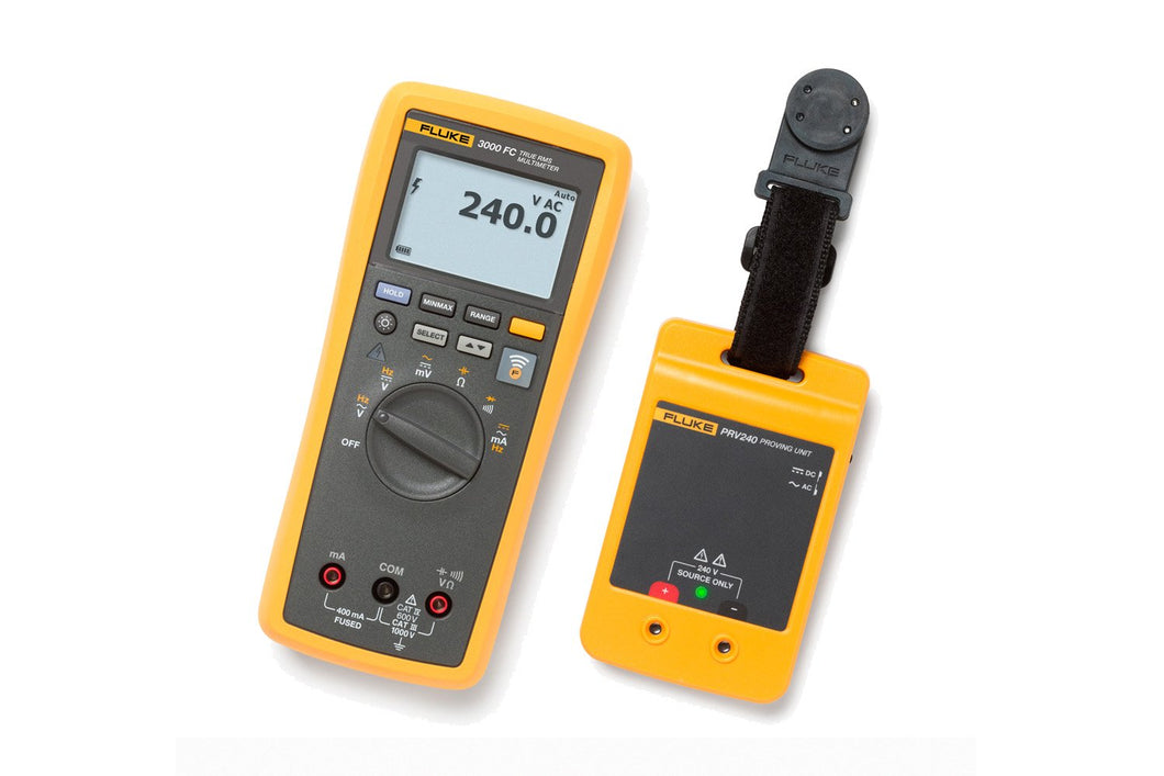 Fluke 3000 FC DMM / PRV240 Proving Unit Kit