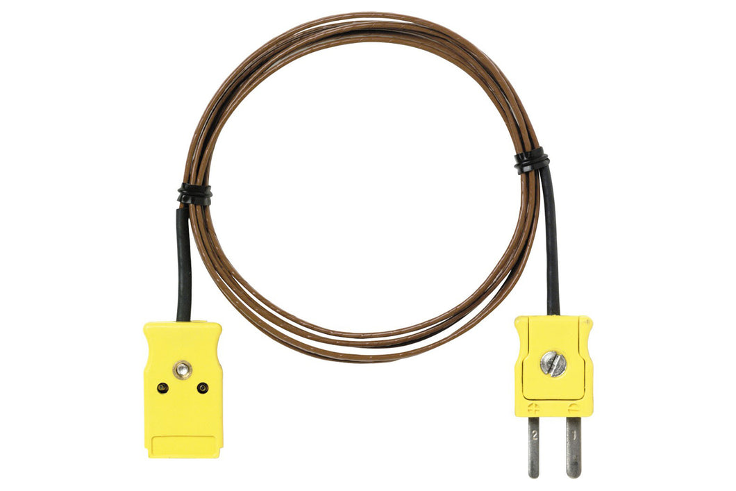 Fluke 80PT-Ext Type T Extension Kit Thermocouple Assembly 3 Meters