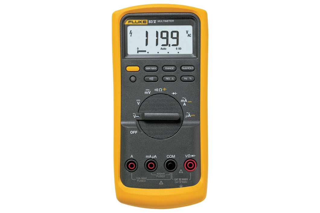 Fluke 83V Average Responding Industrial Multimeter