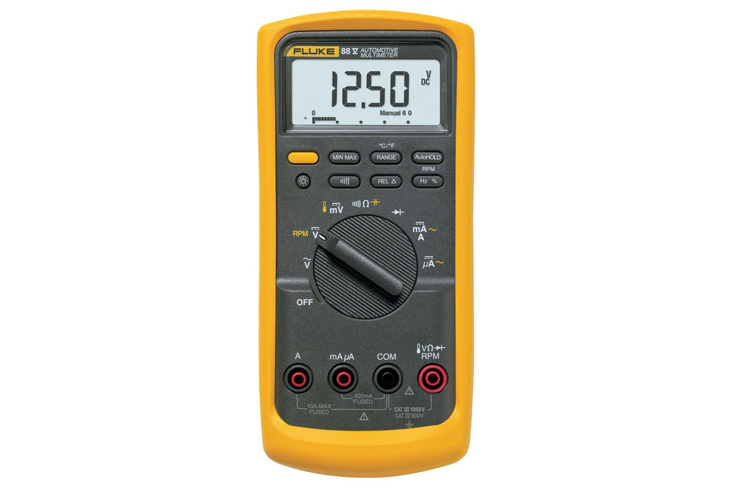 Automotive Multimeters: Fluke 88V/A Automotive Multimeter Combo Kit