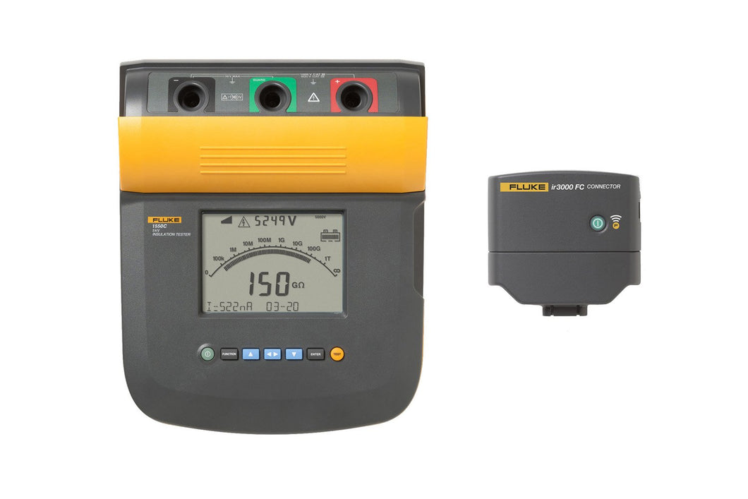 Fluke 1555 FC 10 kV Insulation Tester