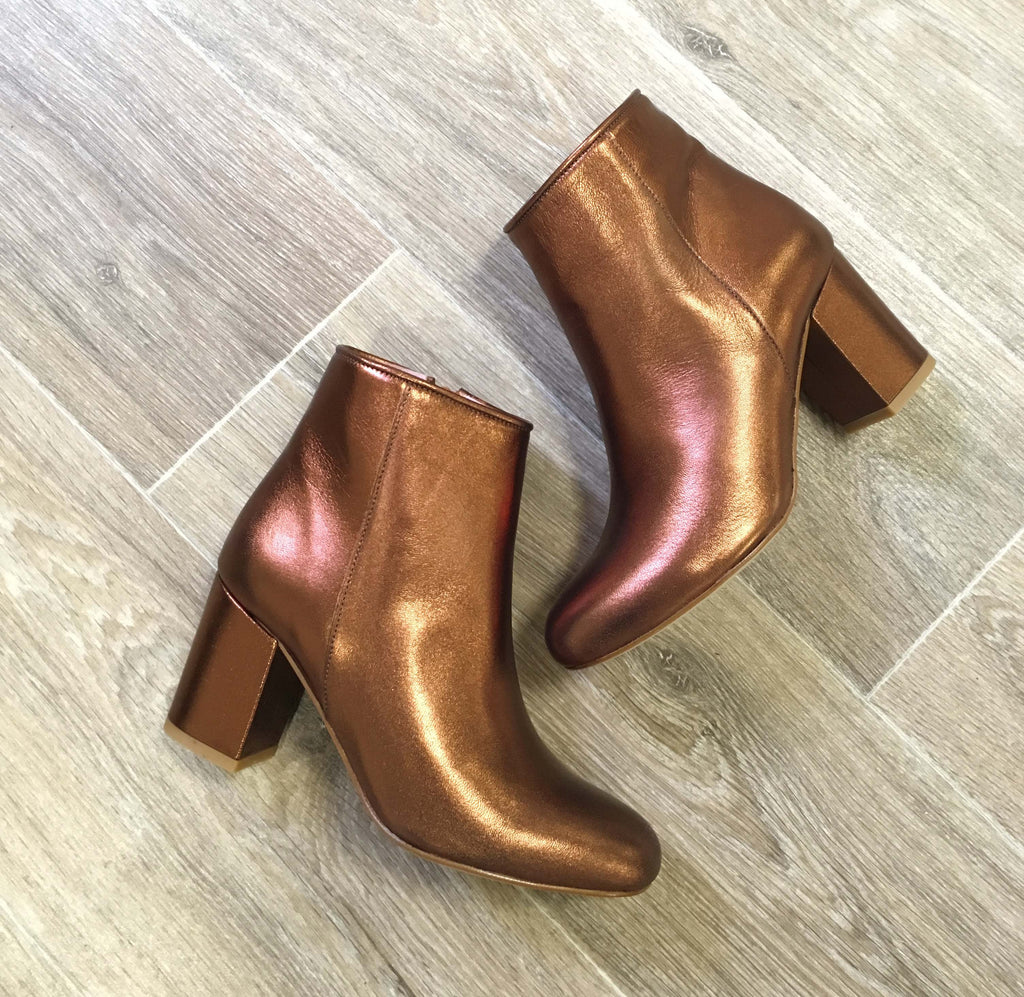 Bottines Nathaly Galaxy Bronze