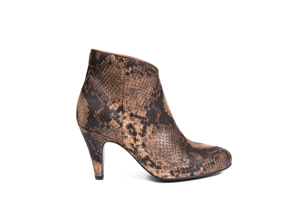 Bottines Louisa Python