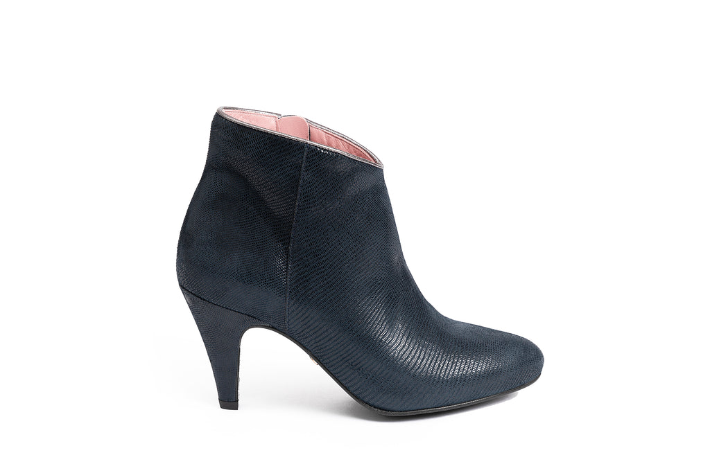 Bottines Louisa Bleu Marine