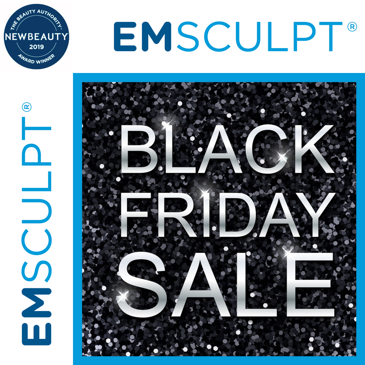 4 TREATMENTS OF EMSCULPT 50% OFF