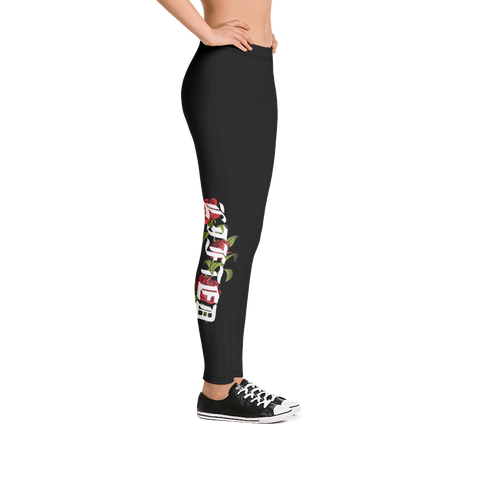 Rose Woman's Leggings